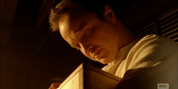 A flashback in the episode shows Jesse daydreaming, or perhaps hallucinating, about the box he made for his mother in high school that he ended up trading for drugs. Fans wanted to see some of Jesse in high school and although he isn't in Mr. White's class, it's a touching reminder that Walt's isn't the only tragic journey the show has chronicled.