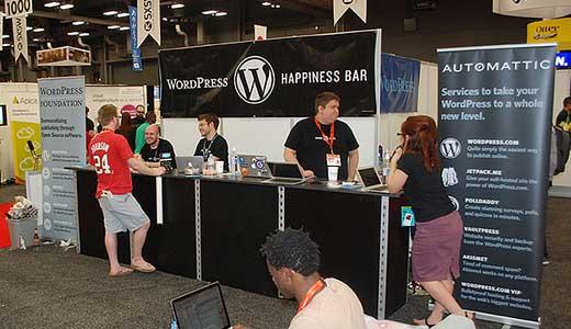 Gian hàng WordPress SXSW