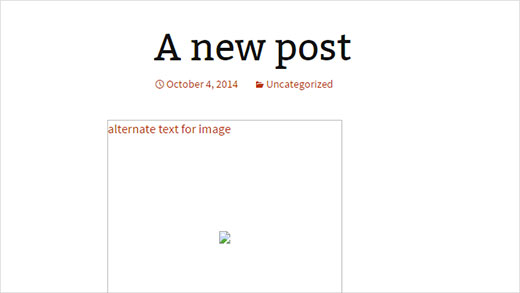 Image Alt Text vs Image Title in WordPress - What's the ...