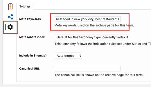 在WordPress中為類別歸檔頁面添加元關鍵字