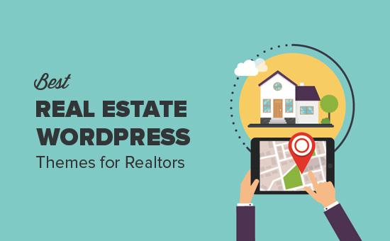 Best WordPress real estate themes for realtors