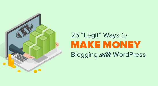 Make Money Online Blogging with WordPress