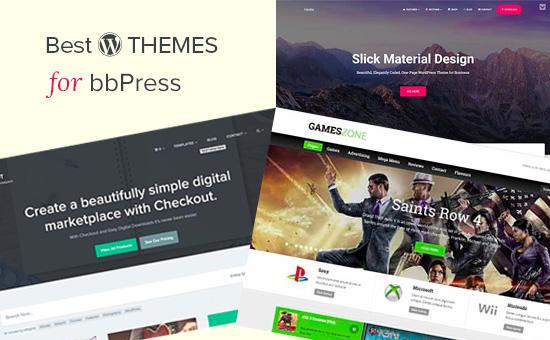 Best WordPress themes for bbPress