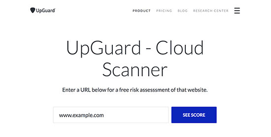 Scanner Website Security Vulnerability