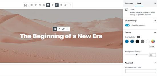 Добавление изображения обложки в пост WordPress