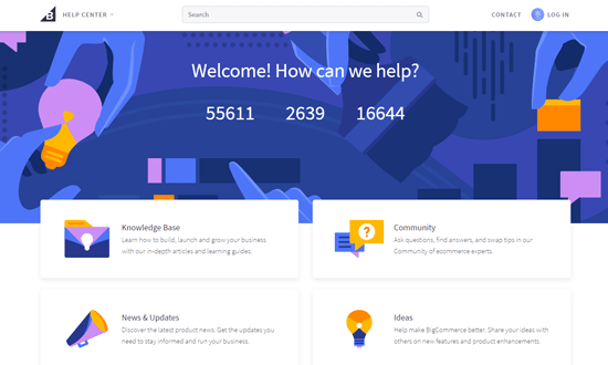BigCommerce Help Center for Support