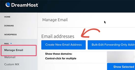 Buat akun email baru