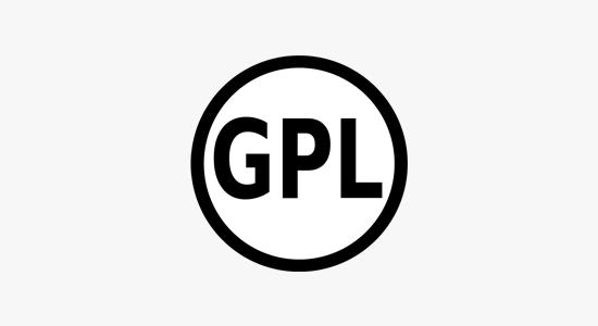 WordPress, Joomla, and Drupal are released under GNU GPL license