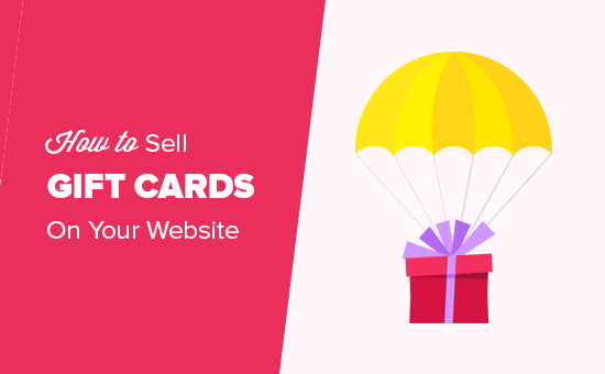 Selling gift cards on your website