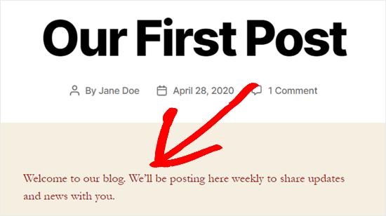 Warna teks disesuaikan di seluruh situs menggunakan kode CSS