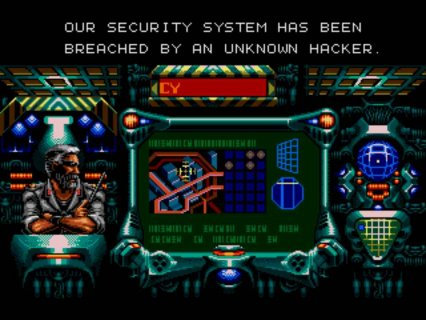 Contra Hard Corps Sega screenshot 3