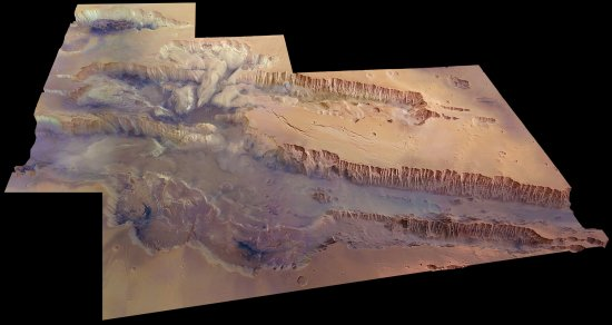 The Solar System's Largest-Known Canyon Is Stunning
