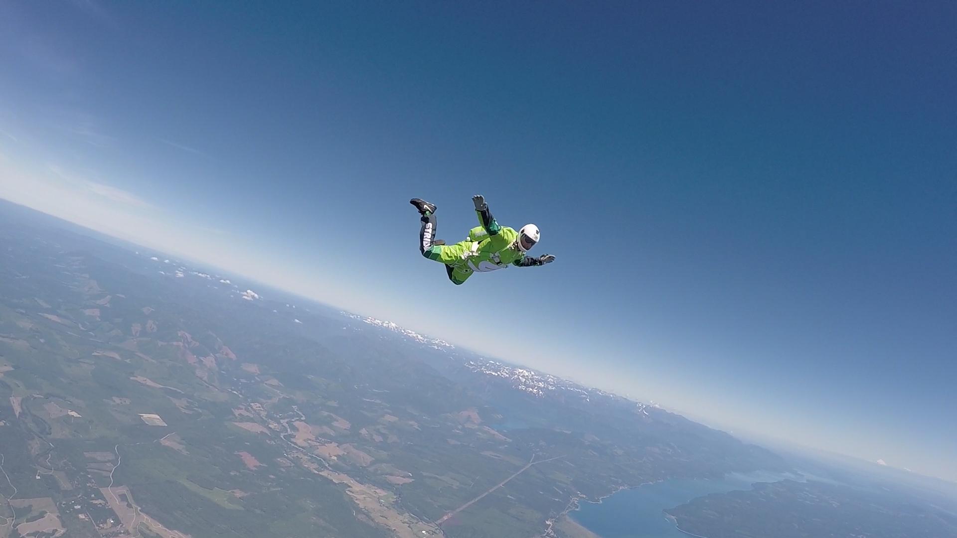 Veteran Skydiver Luke Aikins Makes History By Jumping