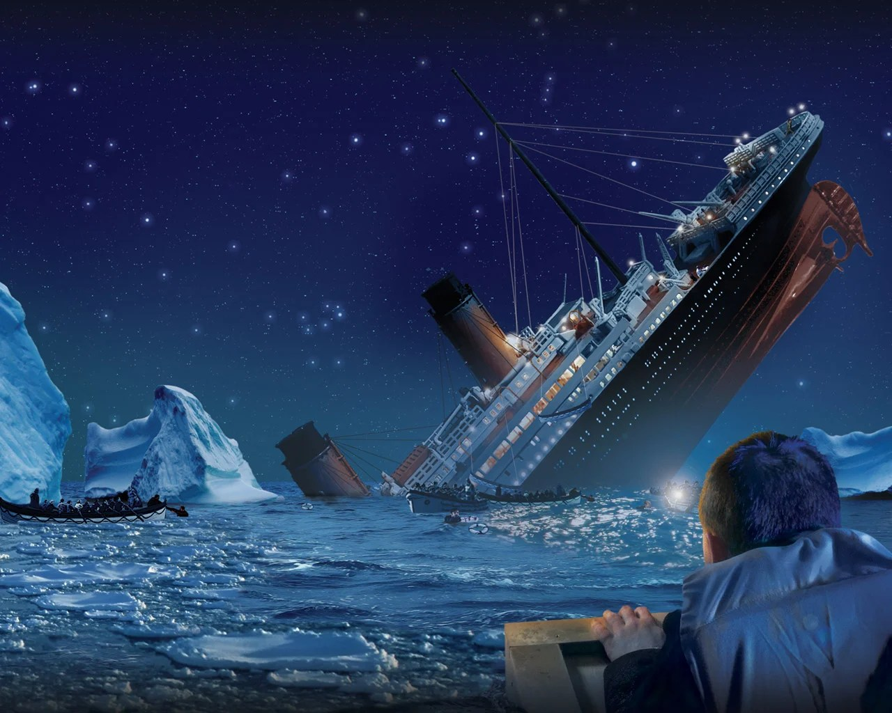 Re Living The Sinking Of The Titanic 101 Years Later Kids