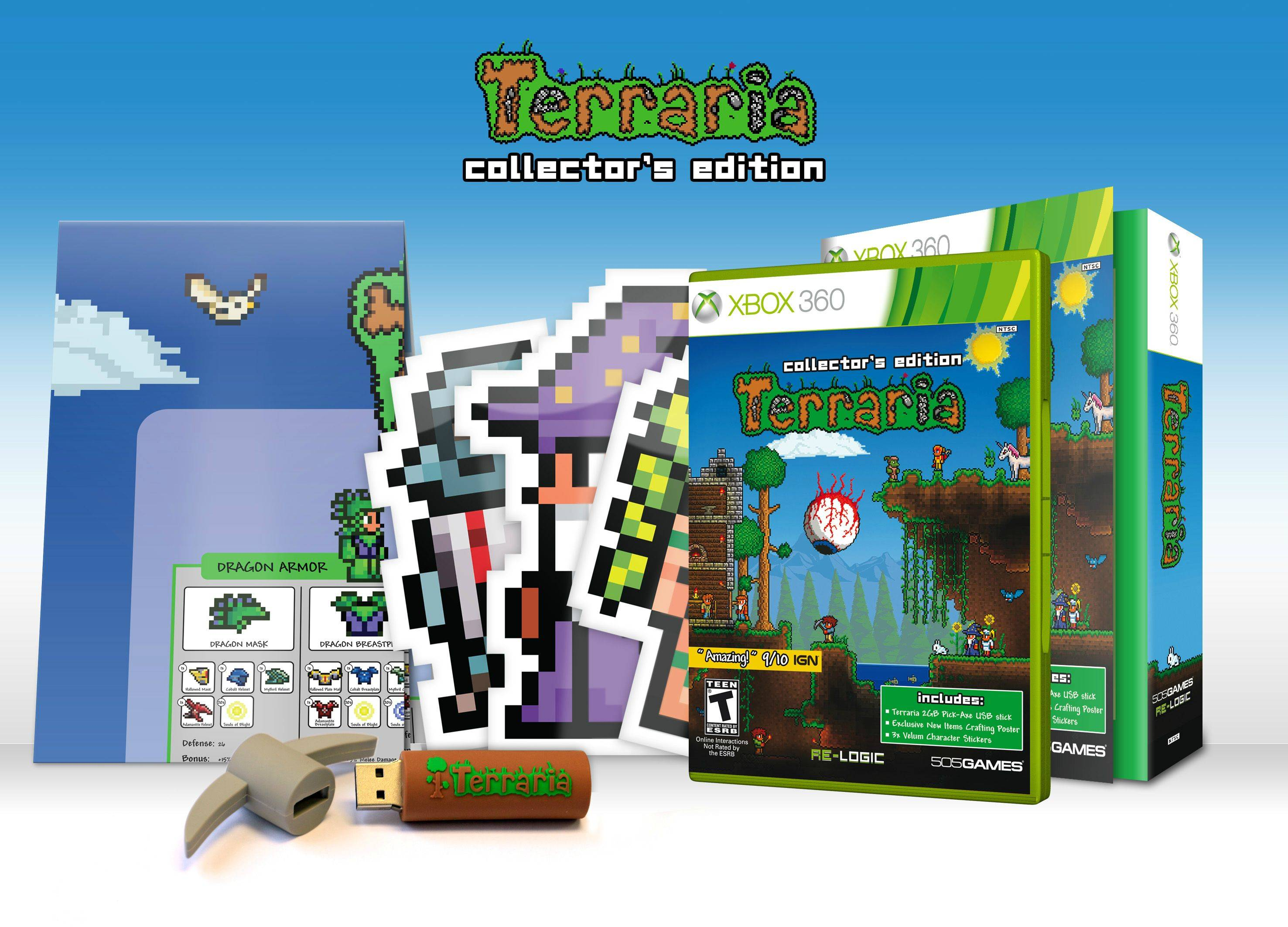 Terraria Collectors Edition Tunneling To The PS3 And Xbox 360