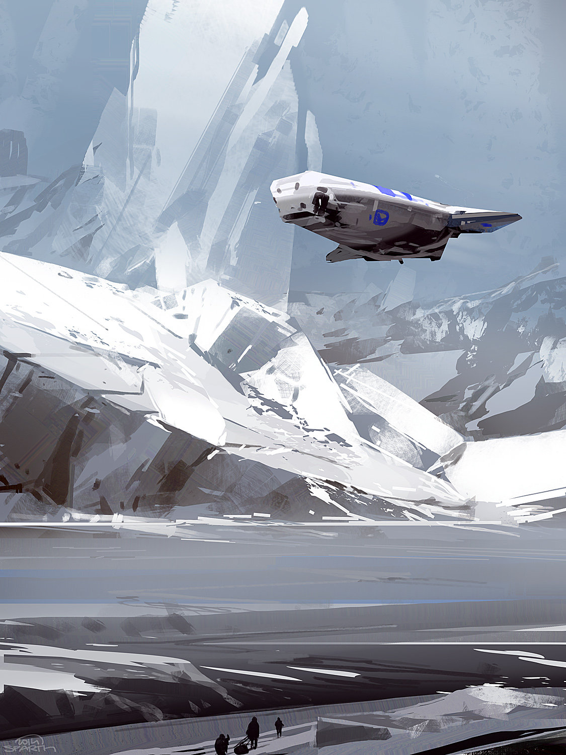 Halo 5 Guardians Art Directors Artwork Is Absolutely