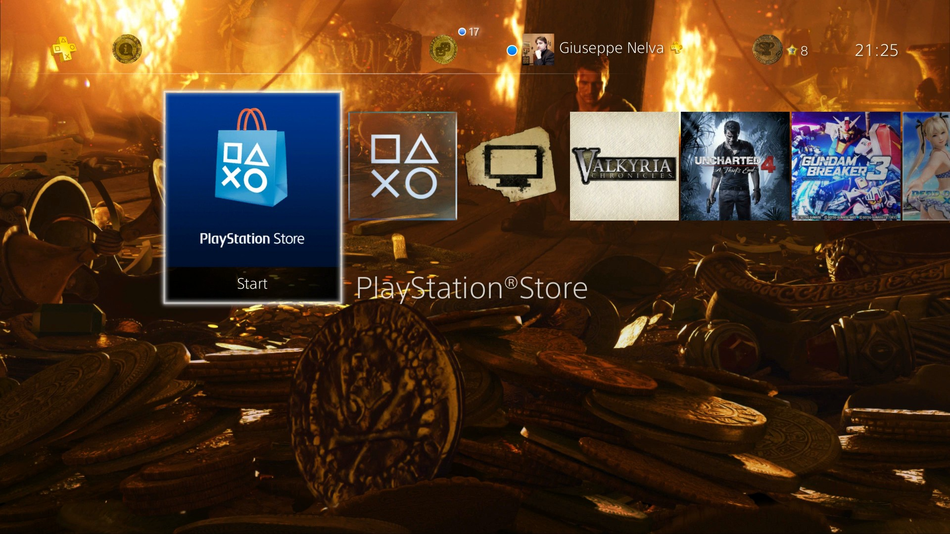 PS4 Gets Two Uncharted 4 Dynamic Themes And Free The Witcher 3 Expansions Theme
