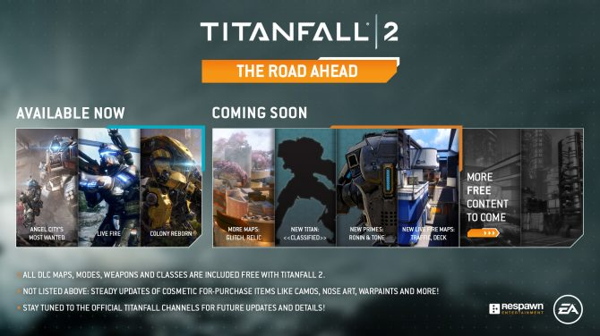 Titanfall 2 Gets Content Roadmap for the Next Two Months; Two New Multiplayer Maps, A New Titan, and More