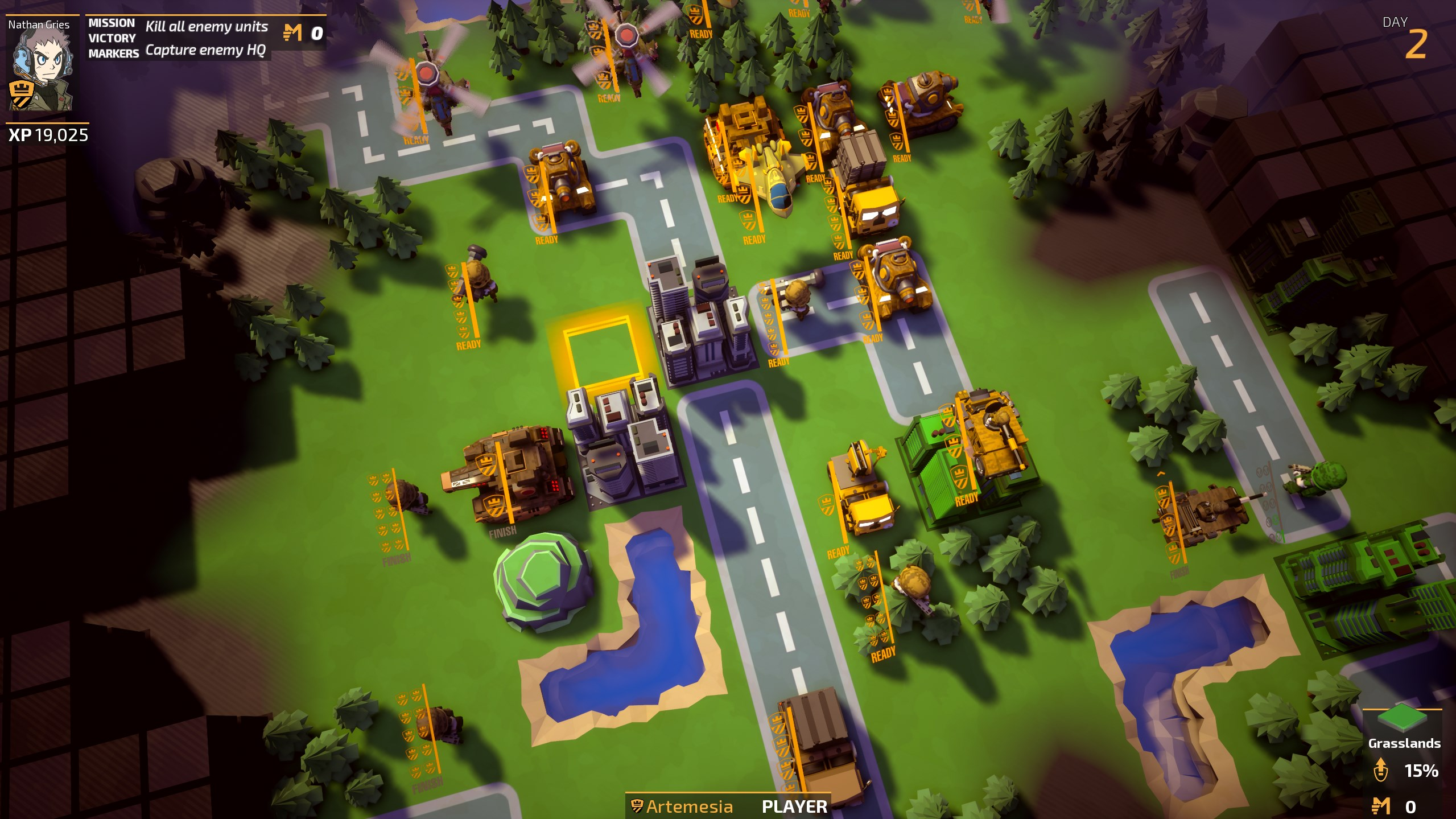 Advance Wars Inspired Game Tiny Metal Announced For
