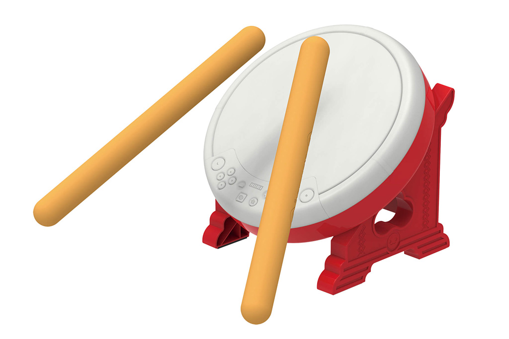 Nintendo Switch Getting Drum Controller For Taiko Drum Master
