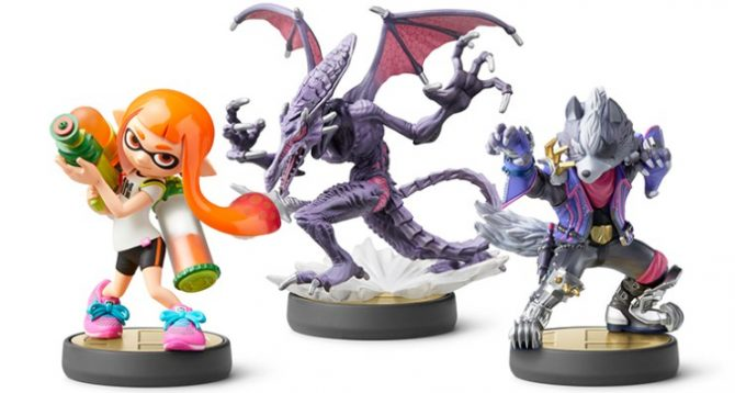 Ridley And Wolf Amiibo Are Both Available For Pre Order Now