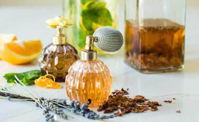 Perfume caseiro
