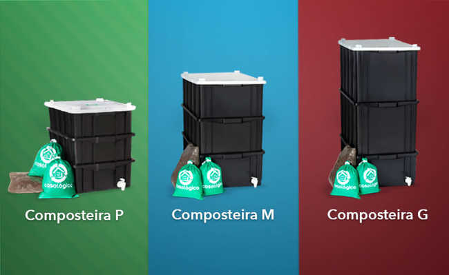 Composteira grande ou pequena? Qual usar?