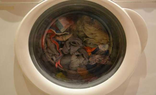 Lavagem das roupas