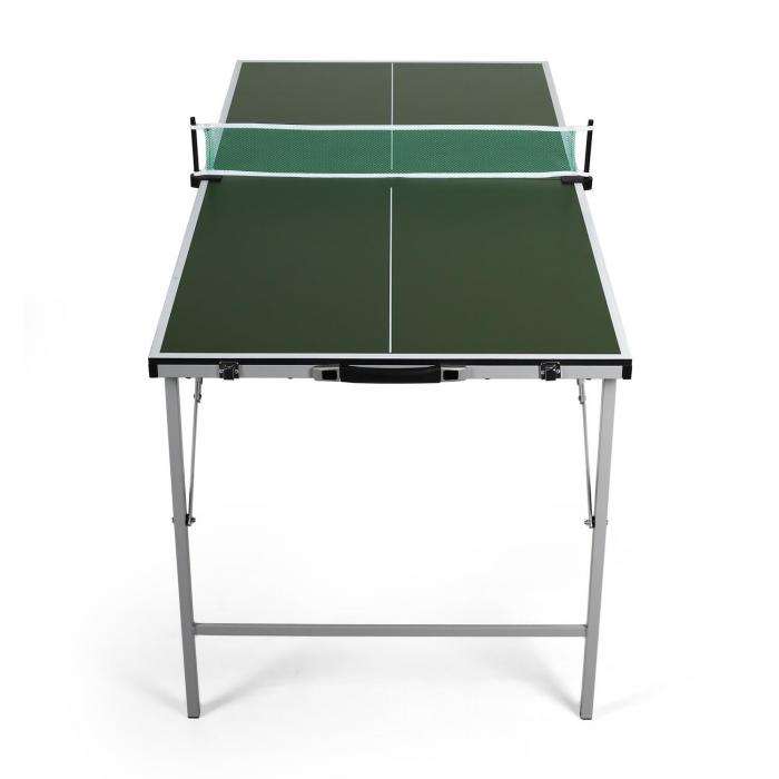 King Pong Mini Tavolo Da Ping Pong Ripiegabile Verde