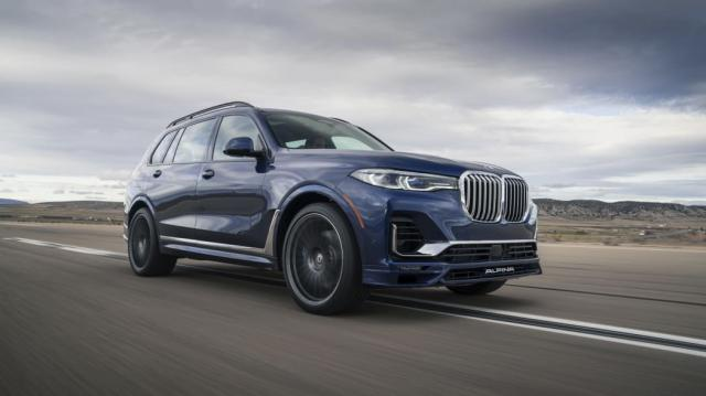 Alpina introduced the unofficial X7 M with 612 hp.