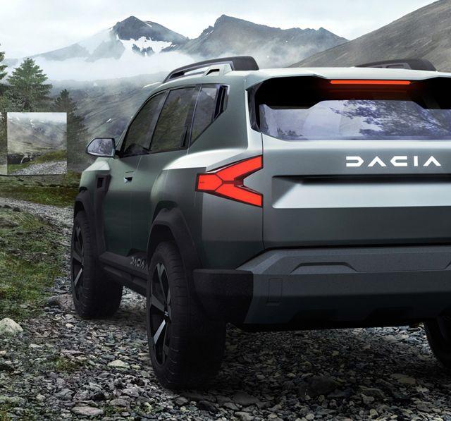 Dacia показала большой внедорожник