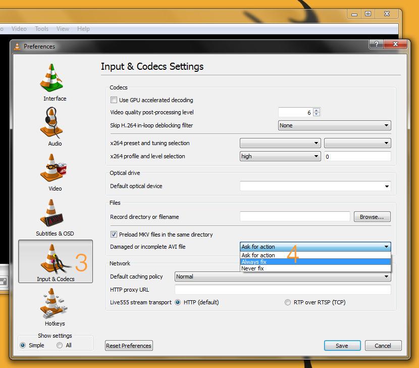 vlc player repair avi broken Software to Fix and Repair Corrupt MP4 AVI Video Files