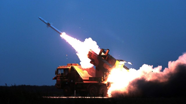 Image result for chinese military drill shoot down missile