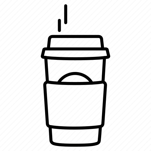 To Go Coffee Cup Silhouette