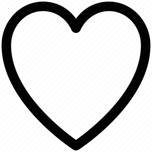 Download .svg, favorite, heart, like, love, rate, romantic icon