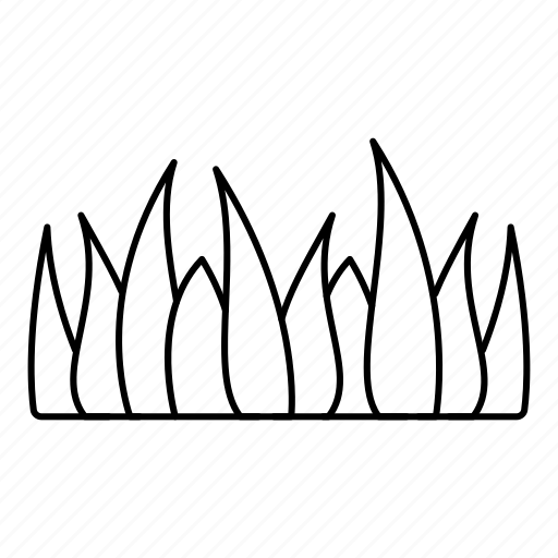 grass grass leaves ground leaves nature plant soil icon