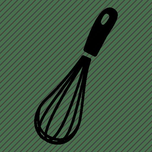 Balloon Egg French Kitchen Utensil Whisk Icon
