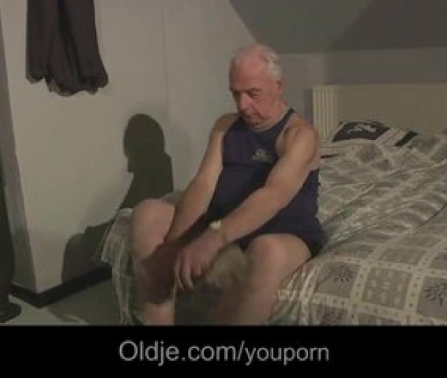 Grandpa Blessed By Hot Russian
