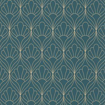 rideau occultant bleu canard tarcoledad