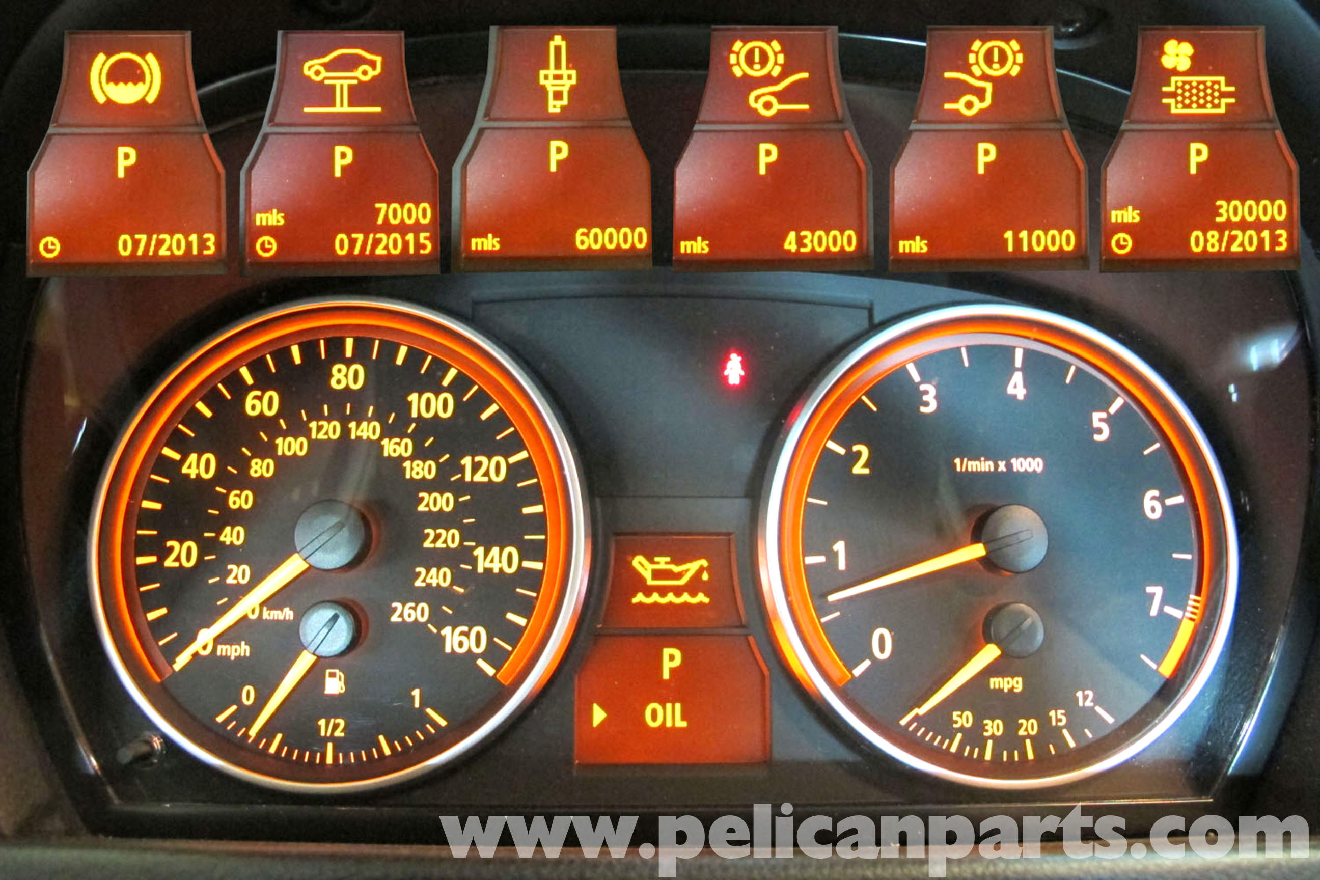BMW Warning Lights   Dashboard Light Meanings   BMW of ...