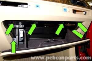 BMW E90 Glove Box Replacement | E91, E92, E93 | Pelican Parts DIY Maintenance Article