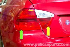 BMW E90 Tail Light Replacement   E91, E92, E93   Pelican