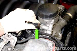 BMW E90 Engine Temperature Sensor Replacement | E91, E92, E93 | Pelican Parts DIY Maintenance