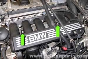 BMW E90 Knock Sensor Replacement | E91, E92, E93 | Pelican Parts DIY Maintenance Article