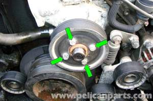 BMW E39 5Series Cooling Pump Removal | 19972003 525i