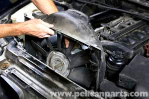 BMW E39 5Series Cooling Fan Replacement | 19972003 525i
