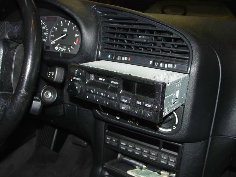 BMW E30/E36 Radio Head Unit Installation