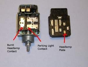 Porsche 914 Headlight Switch Repair | (19691976