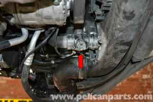 Audi A4 B6 Coolant Temperature Sensor Replacement (20022008)   Pelican Parts DIY Maintenance