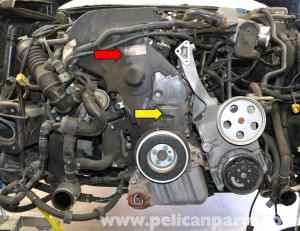 Audi A4 B6 Timing Belt Tensioner Replacement (18T 2002